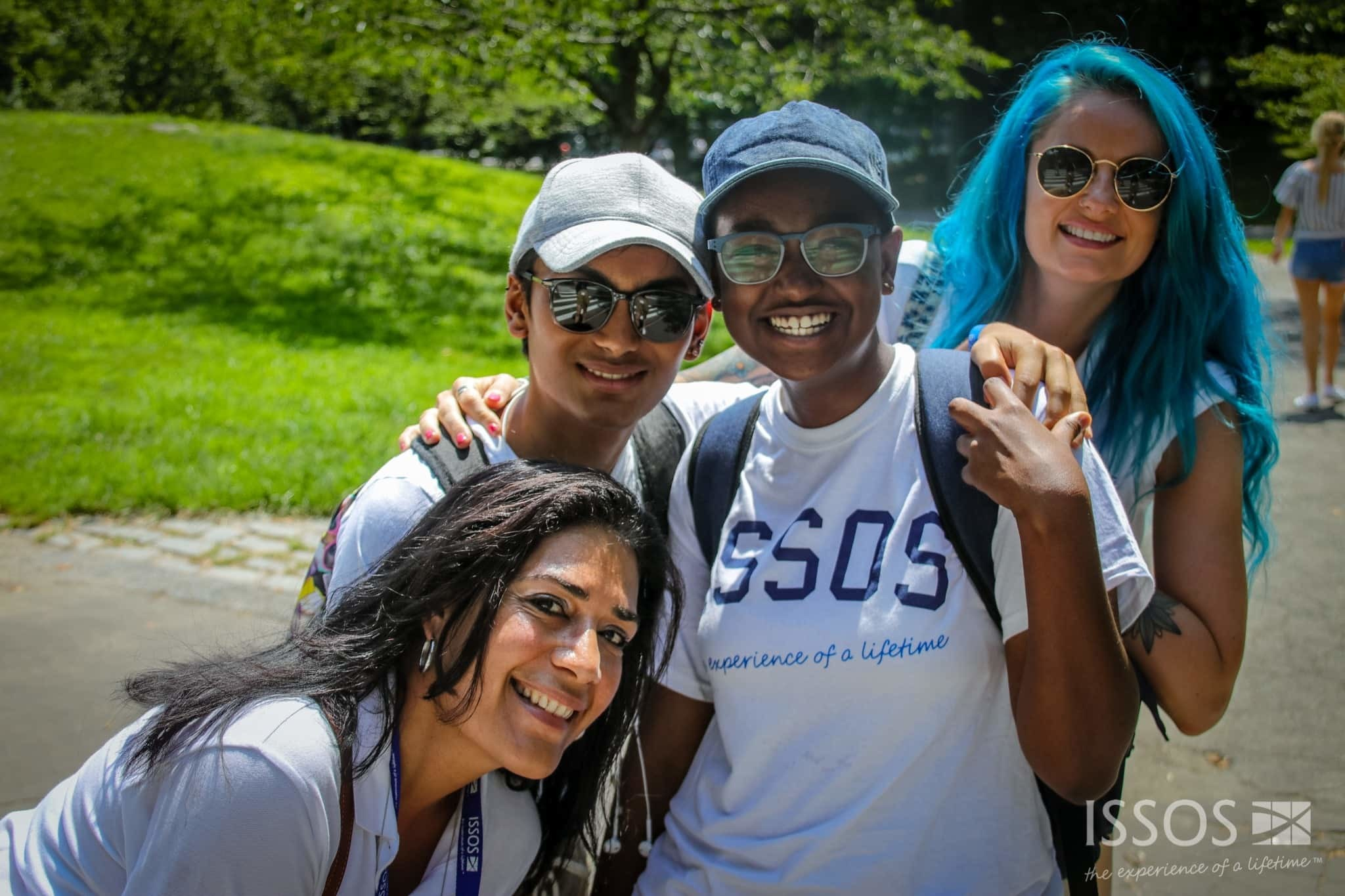ISSOS students