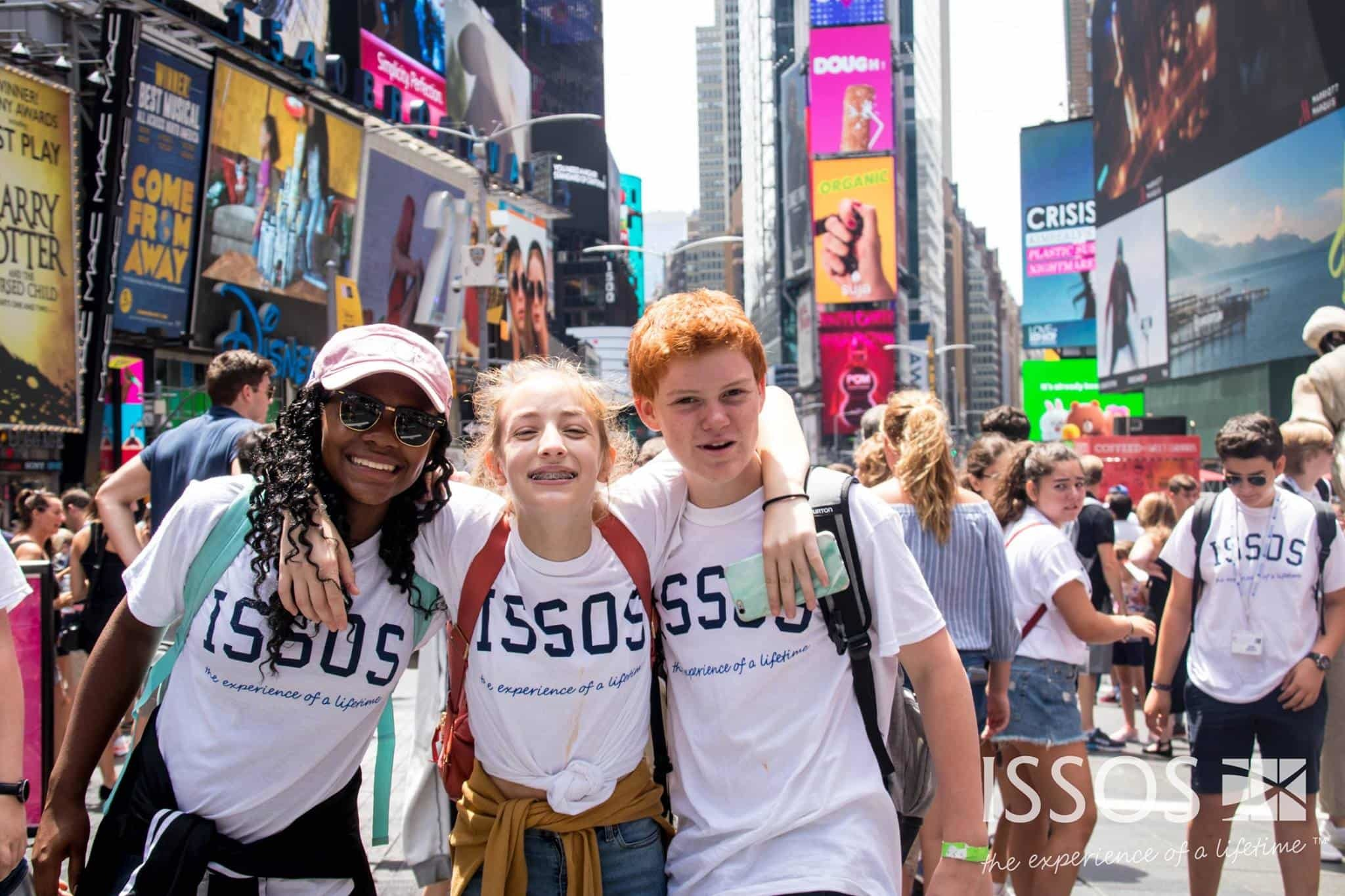 ISSOS students in New York