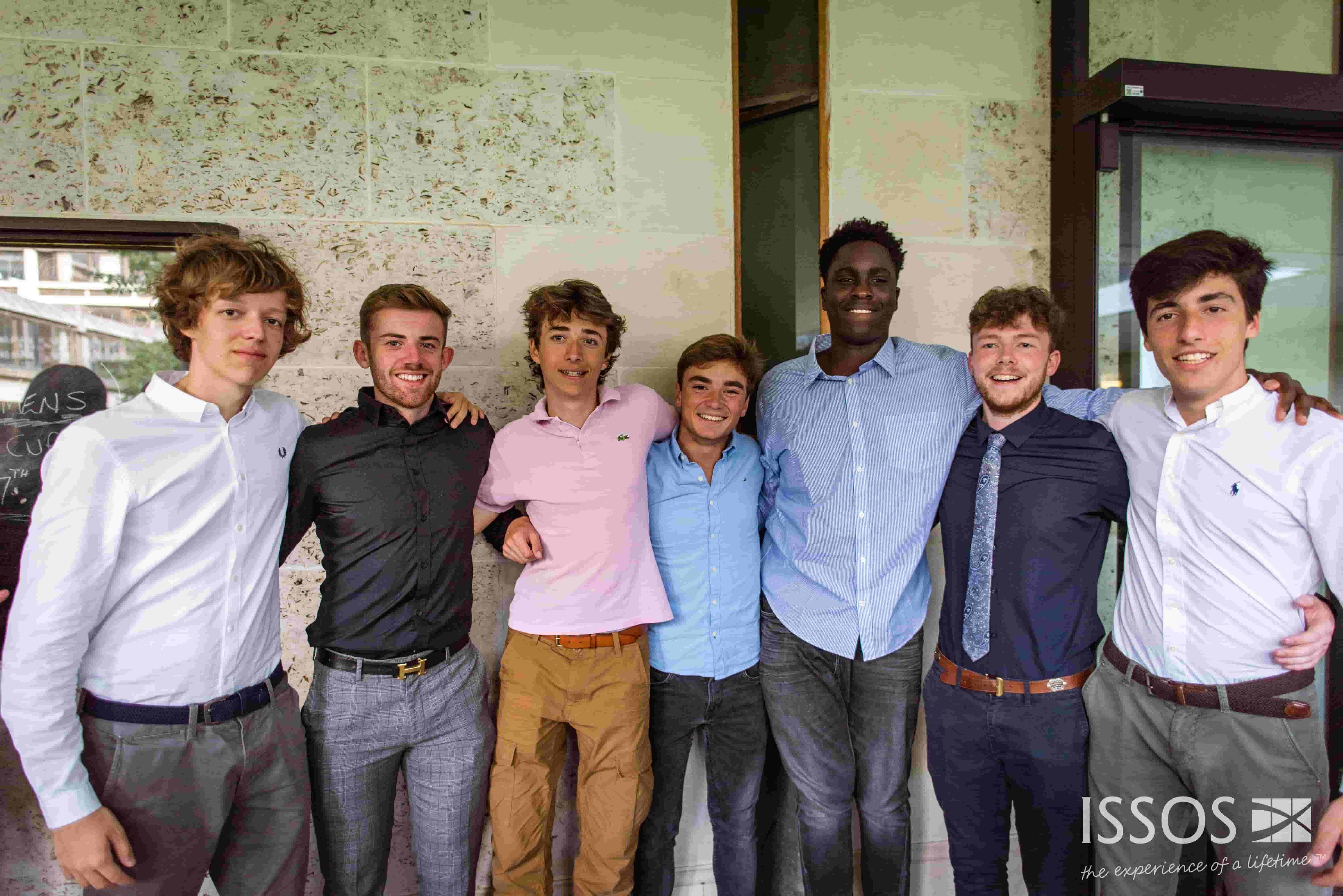students at ISSOS
